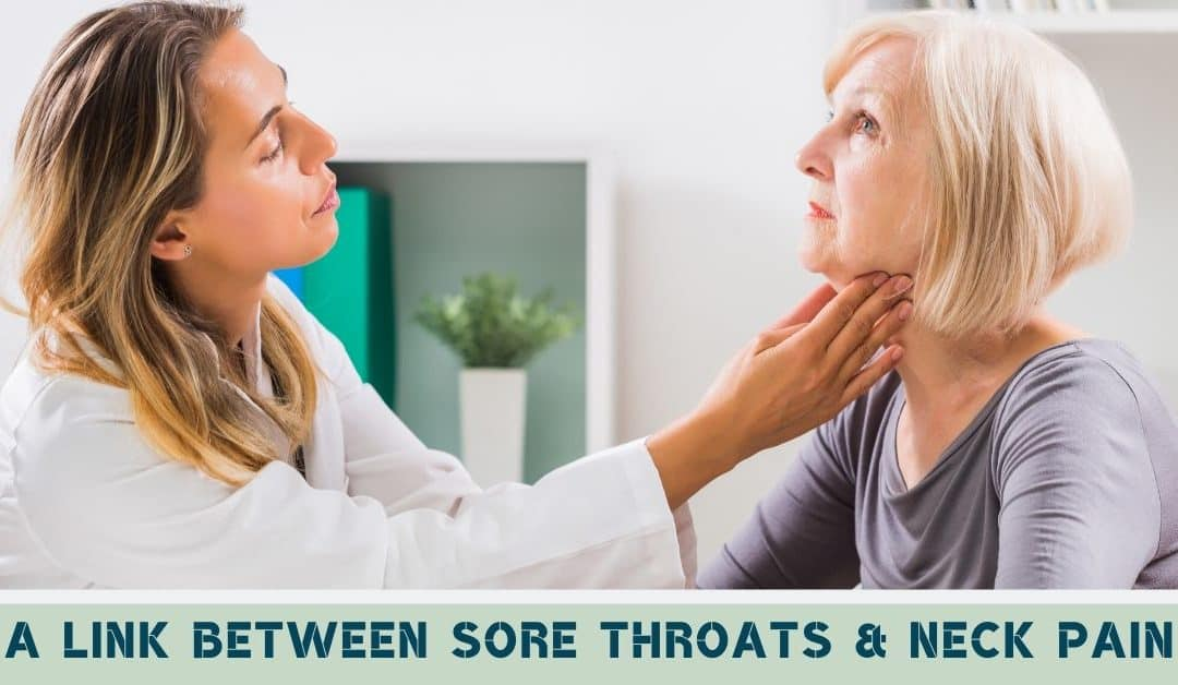 A Link Between Sore Throats & Neck Pain