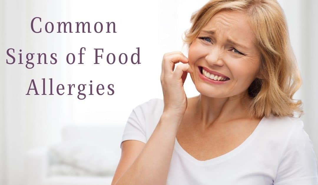 Common Signs of Food Allergies
